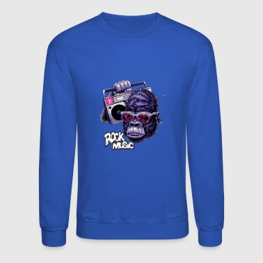 rock music - Crewneck Sweatshirt