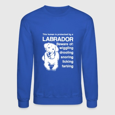 Protected By Labrador Shirt - Crewneck Sweatshirt