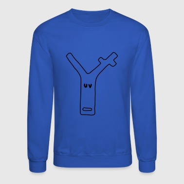 deer uv - Crewneck Sweatshirt