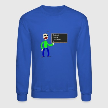 baldi fan art by smiledeadlol dccr3ka - Crewneck Sweatshirt