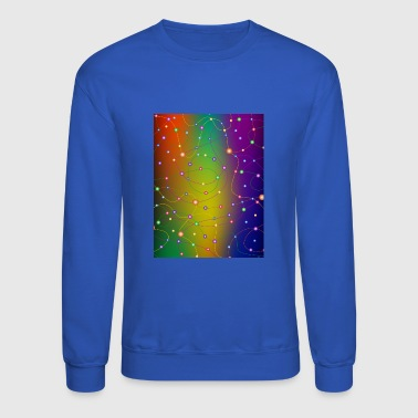 colorful lines and knots - Crewneck Sweatshirt