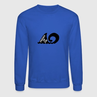 Friends Of Fin logo - Crewneck Sweatshirt