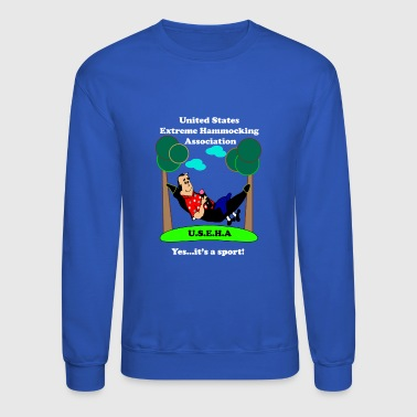 United States Extreme Hammocking Association - Crewneck Sweatshirt