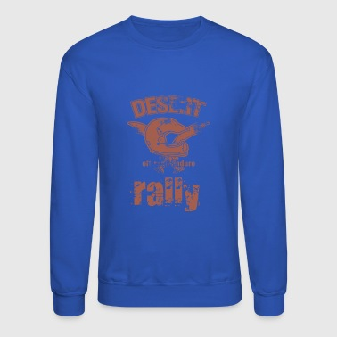 DESERT RALLY motocycle - Crewneck Sweatshirt