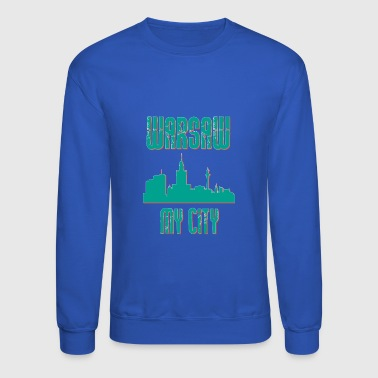 Warsaw MY CITY - Crewneck Sweatshirt