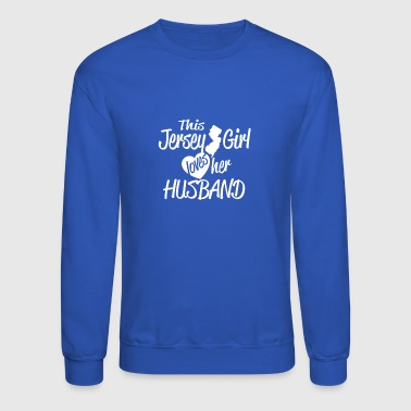 this jersey girl - Crewneck Sweatshirt