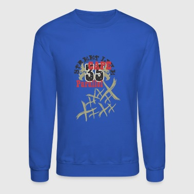 35 parallel street graffiti - Crewneck Sweatshirt