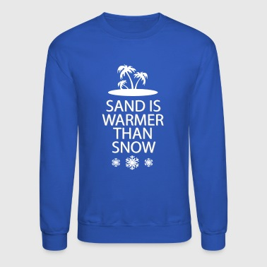 Sand and snow - Crewneck Sweatshirt