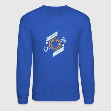 Order Sanitation Dept Hero - Crewneck Sweatshirt