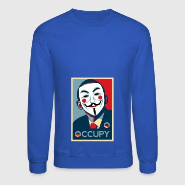 Anonymous occupy - Crewneck Sweatshirt