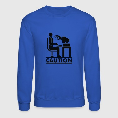 Caution - Crewneck Sweatshirt