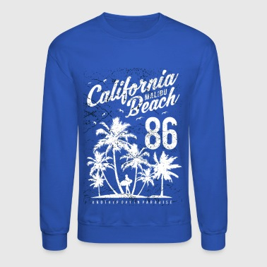 California Malibu Beach - Crewneck Sweatshirt