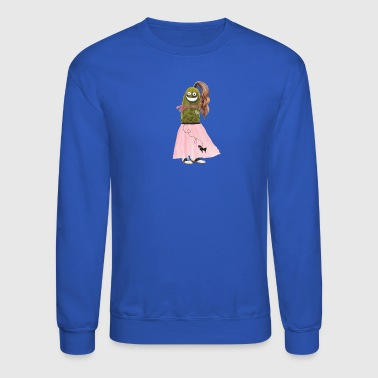 Poodle Skirt Pickle - Crewneck Sweatshirt