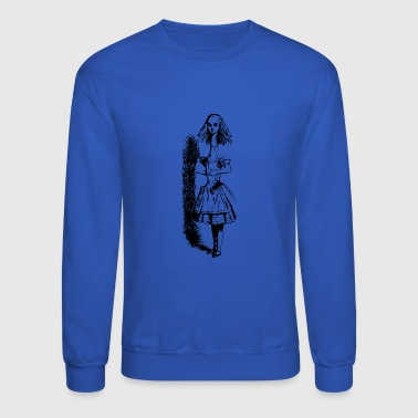 Domina Alice in wonderland - Crewneck Sweatshirt