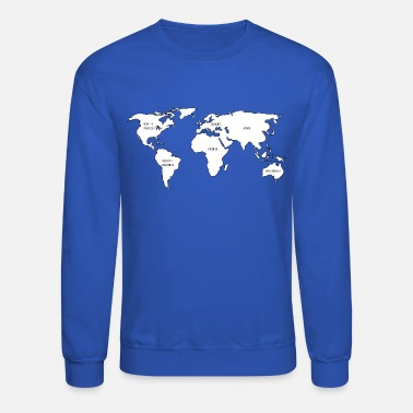 Shop World Map Hoodies Sweatshirts Online Spreadshirt