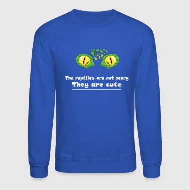 Eye Reptile! The reptile are not scary - Crewneck Sweatshirt