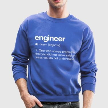 Engineer Definition - Crewneck Sweatshirt