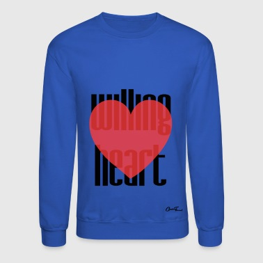 Willing heart - Crewneck Sweatshirt