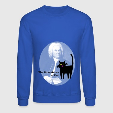Cat Meets Bach - Crewneck Sweatshirt