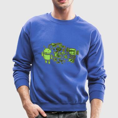 Android Exploded - Crewneck Sweatshirt