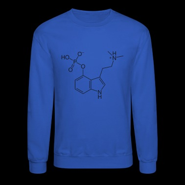 psylocibin drug magic mushrooms - Crewneck Sweatshirt