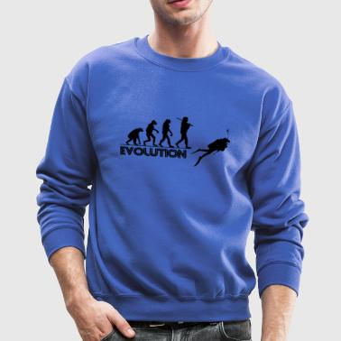 Scuba evolution 02 - Crewneck Sweatshirt