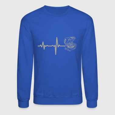 gift heartbeat jewelry chest - Crewneck Sweatshirt