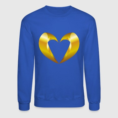 valentines-day-heart-jewelry - Crewneck Sweatshirt
