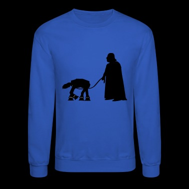 Walking AT AT vectorized - Crewneck Sweatshirt