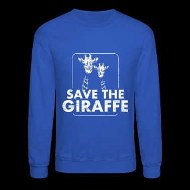Save the Giraffe Animal Welfare - Crewneck Sweatshirt