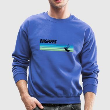 Retro Bagpipes - Crewneck Sweatshirt