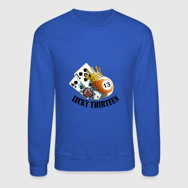 Lucky Thirteen - Crewneck Sweatshirt