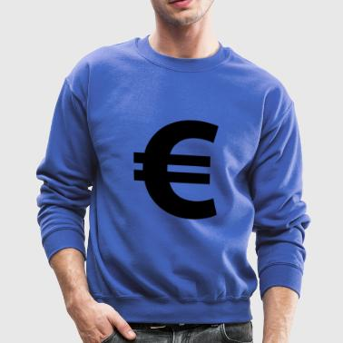 Euro Sign - Crewneck Sweatshirt