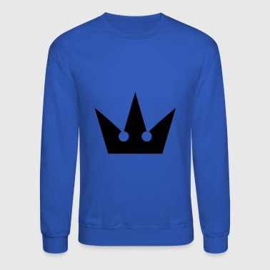 Kingdom Hearts Crown Symbol - Crewneck Sweatshirt
