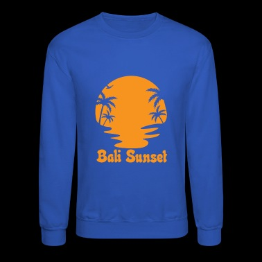 bali sunset - Crewneck Sweatshirt