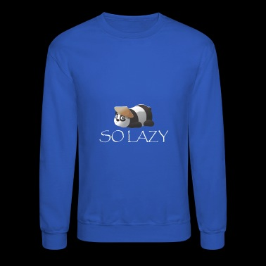 lazy - Crewneck Sweatshirt