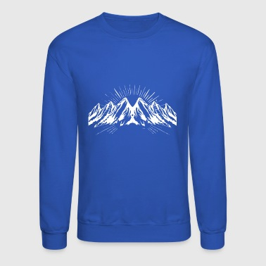 Big white snow mountain - Crewneck Sweatshirt