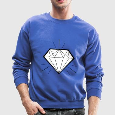 Diamond bling bling - swaggy - Crewneck Sweatshirt