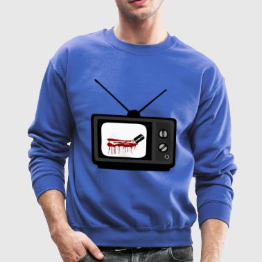 Cut the Cord - T.V. Design - Crewneck Sweatshirt