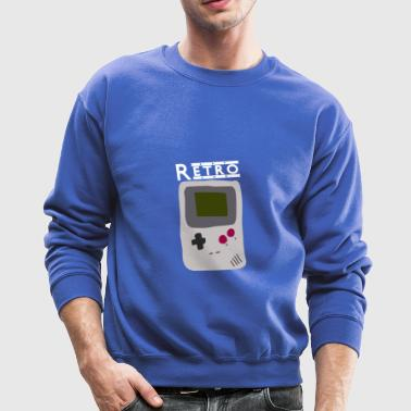 Game console Retro [White] - Crewneck Sweatshirt