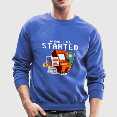 Retro Gaming - Crewneck Sweatshirt