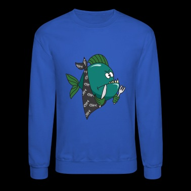 Piranha - Crewneck Sweatshirt