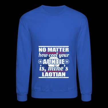 no matter cool auntie tante gift Laos png - Crewneck Sweatshirt