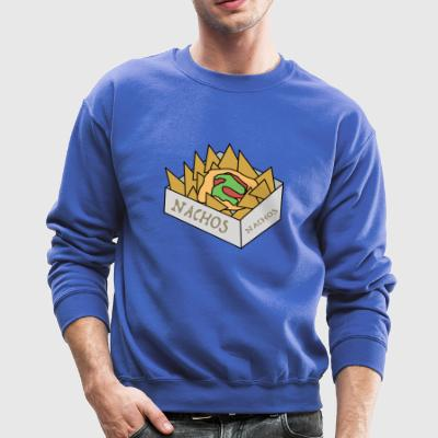 quesadilla tortilla nachos mexican food3 - Crewneck Sweatshirt