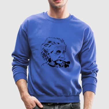 Albert Einstein physicist - Crewneck Sweatshirt