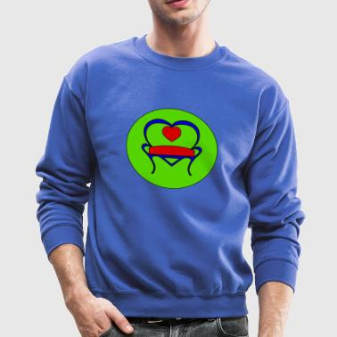 Blue Love Seat - Crewneck Sweatshirt