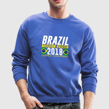 BRAZIL BRASIL WORLD CUP 2018 FAN SHIRT COOL LOOK - Crewneck Sweatshirt