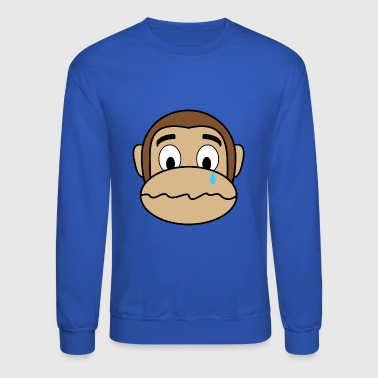 Sad Monkey - Crewneck Sweatshirt