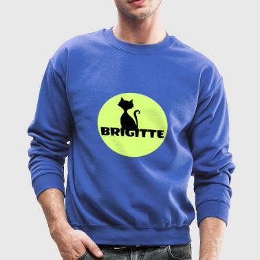 Brigitte name first name - Crewneck Sweatshirt