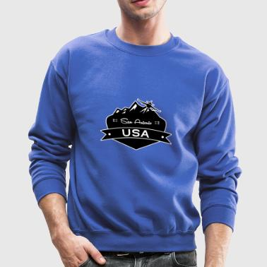 San Antonio USA - Crewneck Sweatshirt